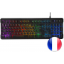 Clavier Gamer Mars Gaming MK218 RGB (Noir)